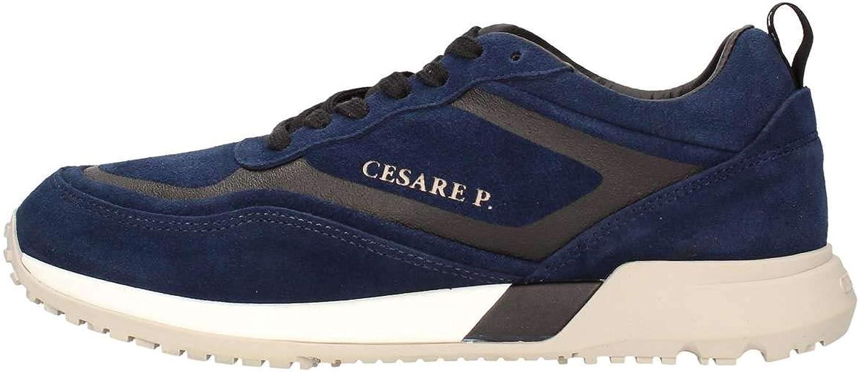 Cesare P. By Paciotti PITOV1515MSD212 Turnschuhe Mann Blau 42    f7a242