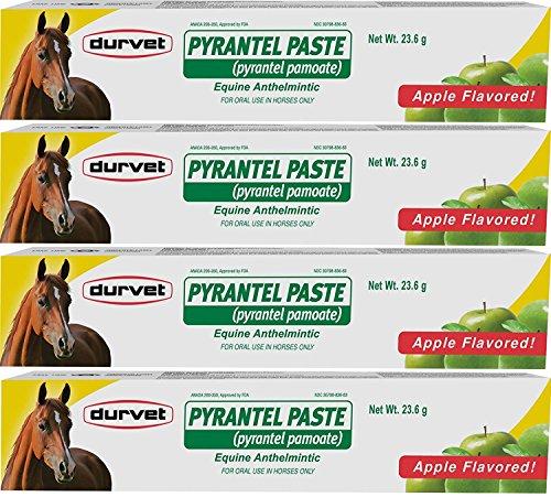Durvet (Paquete de 4) pirantel Pega Wormer, 23.6gm por Paquete