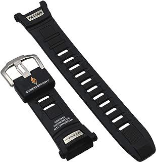 Genuine Casio Sport Protrek Tough Solar Black Resin 25.5/16mm Watch Strap