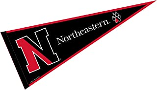 College Flags & Banners Co. Northeastern University Pennant Full Size Felt