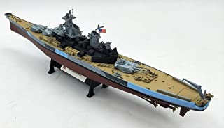 FloZ WWII USA USS Missouri 1944 1/1000 diecast Model Ship Navy Iowa-Class Battleship