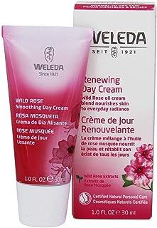WELEDA Wildrose Glättende Tagespflege, Naturkosmetik Gesichtscreme für trockene Haut zum Schutz vor Falten und Hautalterung, für Vitalität und Elastizität der Haut 1 x 30 ml