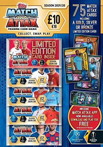 Topps Match Attax 2019/20 Sammelkarten Mega Multipack
