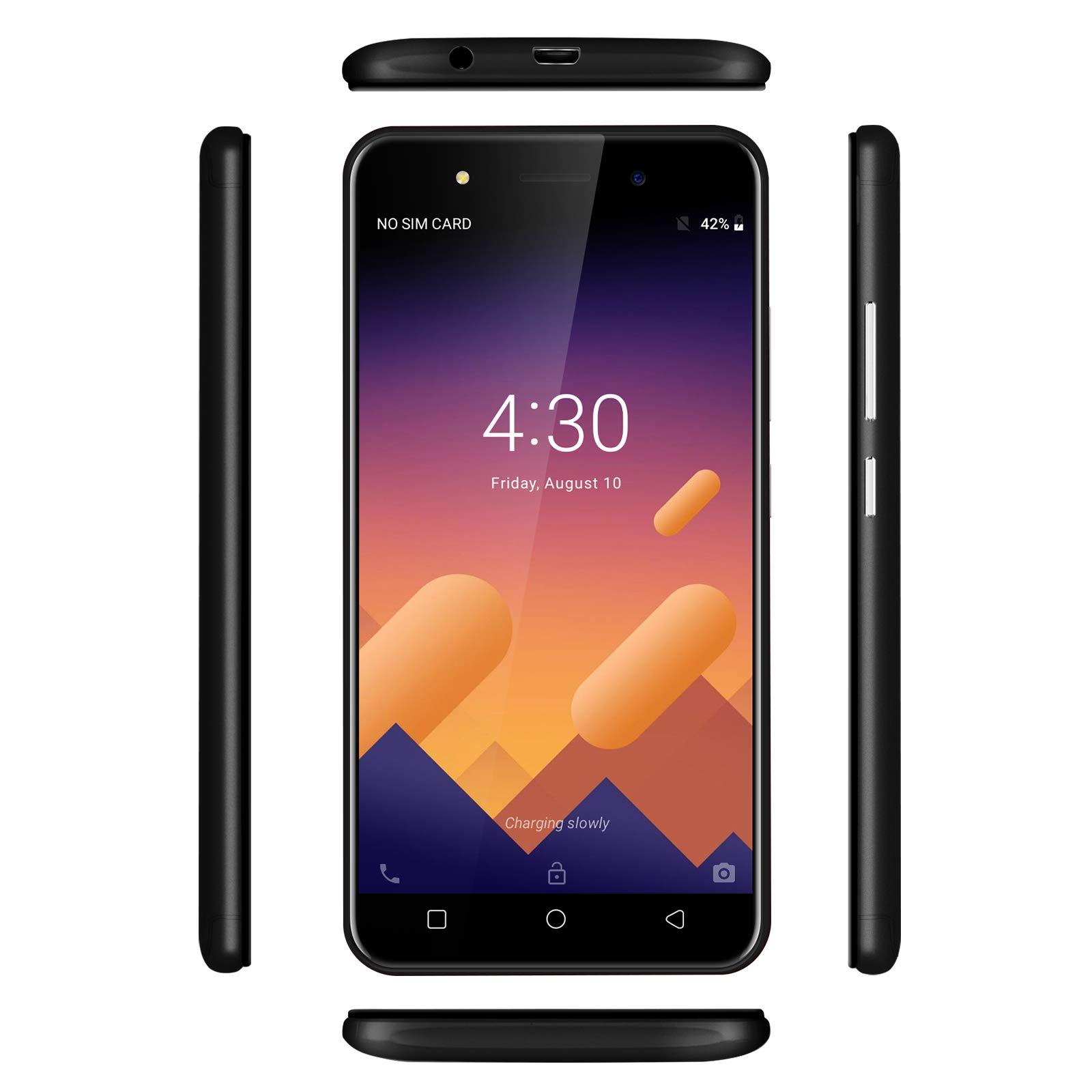 Xgody X6 Android Go 8.1 Smartphone Unlocked, 5 Inch Sim Free ...
