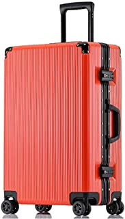 NJC Trolley Case Aluminum Frame Scratch-Resistant Business Boarding Universal Wheel Men and Women Suitcase Trolley Case