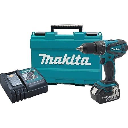 "Makita XPH012 18V LXT Lithium-Ion Cordless 1/2"" Hammer Driver-Drill Kit (3.0Ah)"