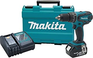 Makita XPH012 18V LXT Lithium-Ion Cordless 1/2-Inch Hammer Driver-Drill Kit with One..