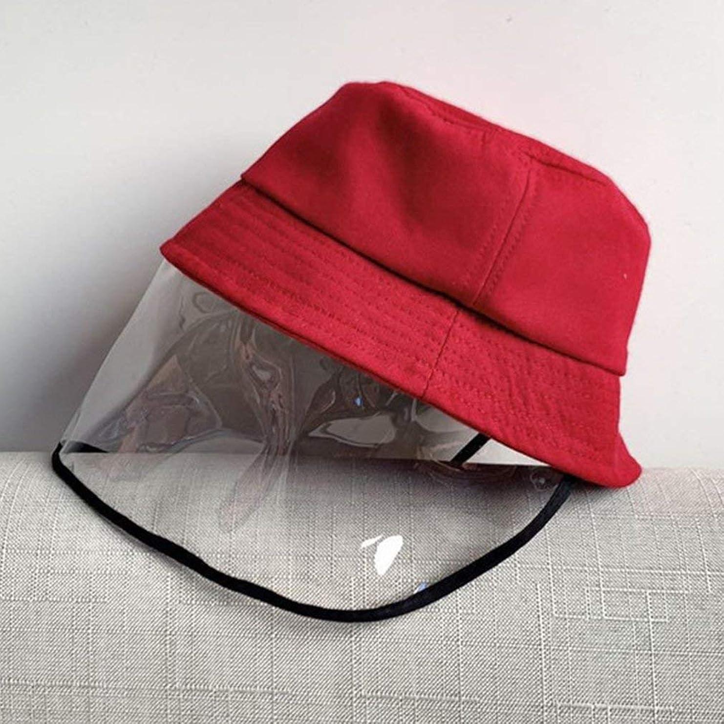 丁寧学校教育入札子供の保護漁師の帽子綿Pvcシェード日焼け止め帽子赤ちゃん洗面器帽子抗唾液漁師帽子赤