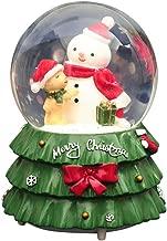 Fridaymonga Bola De Nieve De Navidad, Christmas Snow Globe Music Box Papá Noel Muñeco De Nieve Snow Globe Decoración Musical Navidad Año Nuevo Regalo Para Niños, Estilo De Vuelo Estándar/copo De Nieve