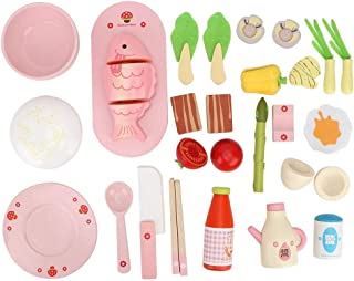 Children Kids Portable Simulation Toy, Kitchen Cooking Educational Pretend Play Toys, for Infants Fine Motor Skills