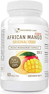 Progress Labs African Mango Forte Original 20:1 600mg