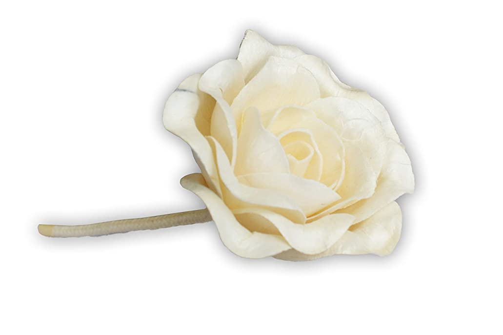 トレードゆるいデジタルMAYA フラワーディフューザー ソラフラワー ローズ (8cm) [並行輸入品] | Aroma Flower Diffuser Sola Flower - Rose