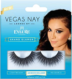 (Pack of 5 Pairs) Vegas Nay Grand Glamour Lashes