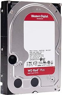 WD Red Plus 内蔵ハードディスク 4TB HDD 3.5インチ ロジテックの保証・無償ダウンロード可能なソフト付 ウエデジ LHD-WD40EFZX