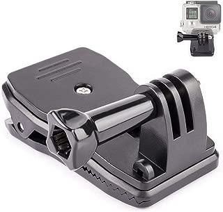 DELUXEFOX GOPROカメラクリップ クイッククランプ、帽子バックパック 回転式 クリップ マウント gopro変換アダプタ OSMO Action/Gopro Hero 7/6/5/4などのスポーツカメラに対応