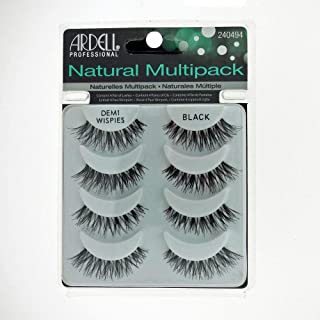 Ardell Demi Wispies Black Lashes - 4 Pack