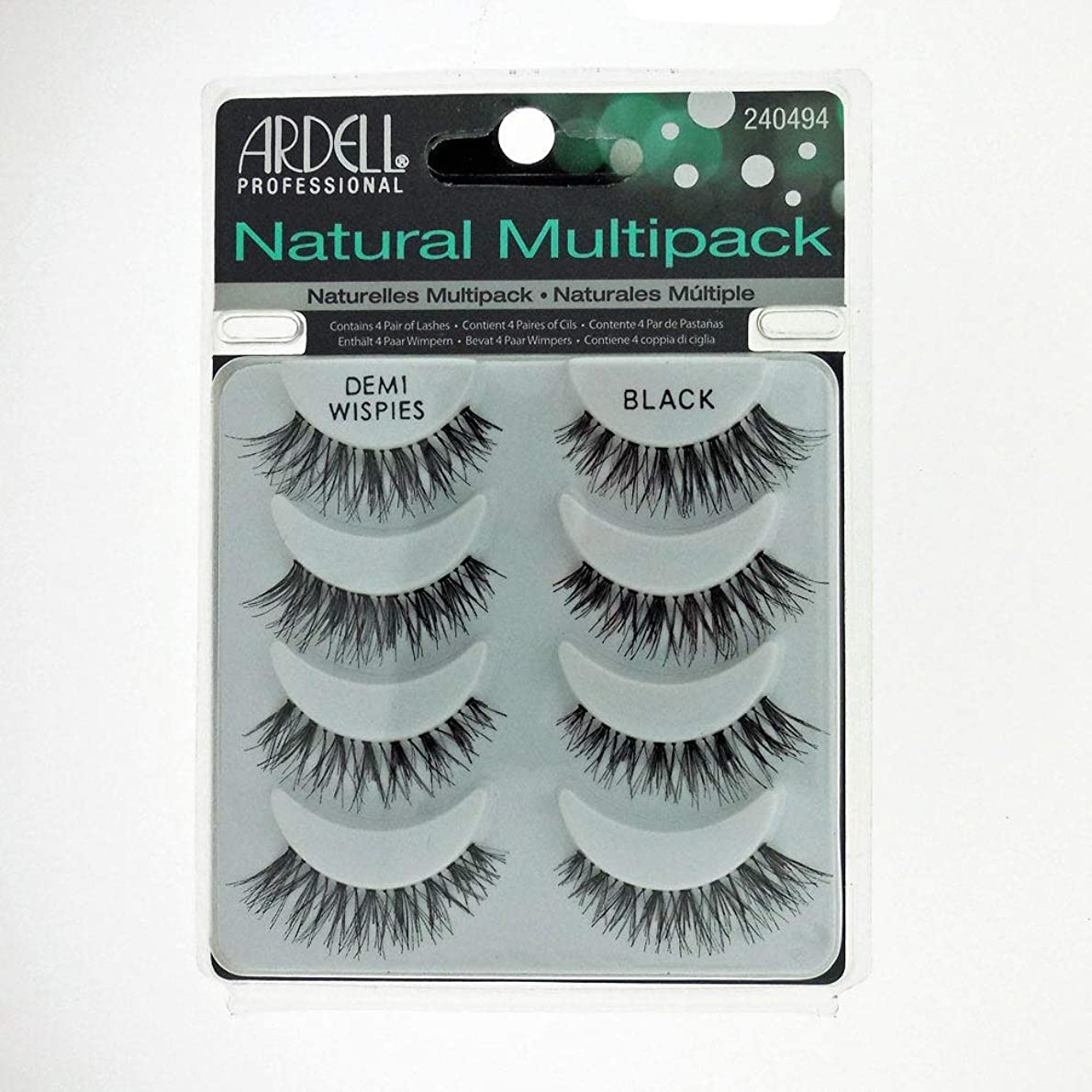 平和的曲げる狐Ardell Multipacks Lashes - Multipack Demi Wispies