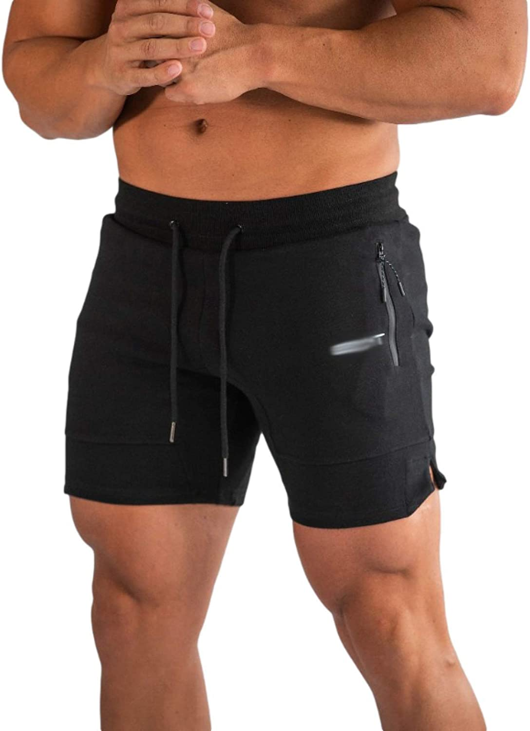 Jubaton Men's Gym Shorts with Complete Ventilation, Versatile Sports Shorts for