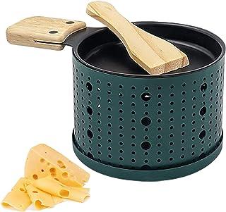 Une Raclette à la Bougie, Appareil a Raclette avec Spatule Bois Inclues, Faites Fondre Votre Fromage en 3 Minutes, Devant ...