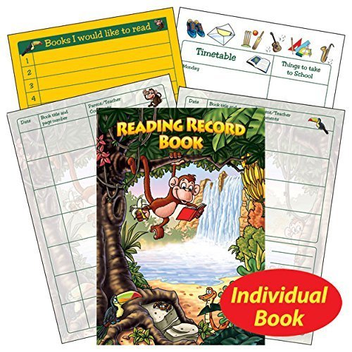1 Jungle Reading Comprehension Record Book Childrens Pupils...