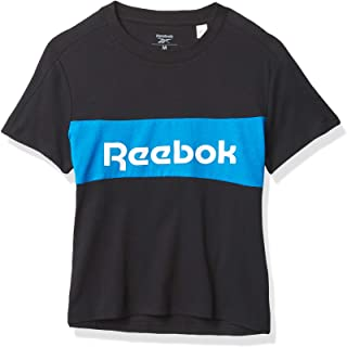 Reebok Men's Training Essentials Linear Logo T-Shirt