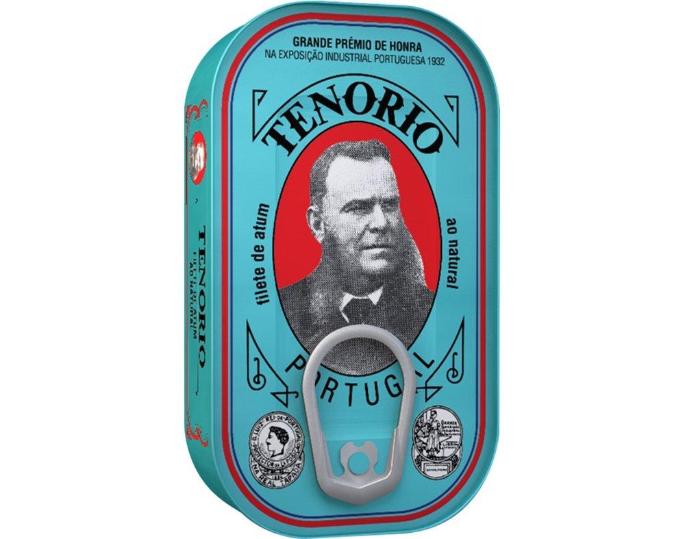 Portugal Tenório Tuna Fillet Can 120g (Brine)