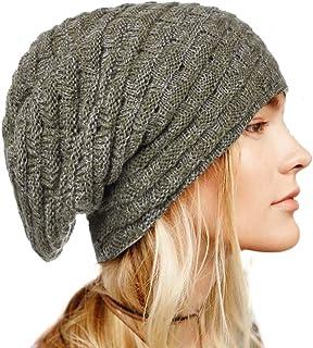 بوهيند شتاء محبوك قبعة صغيرة دافئة قبعة صغيرة لينة تمتد كابل اكسسوارات الشعر للنساء والفتيات الأبيض