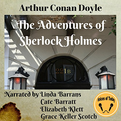 Page de couverture de The Adventures of Sherlock Holmes