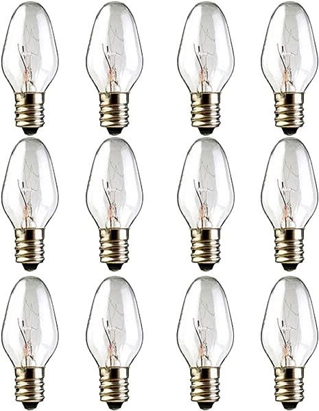 12 Pack 15 Watt Wax Melt Warmer Light Bulbs For Scentsy Plug In Nightlight Warmer Wax Diffuser And Candle Warmers