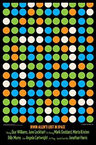 Lost In Space Dots by Juan Ortiz Art Print Poster 12x18