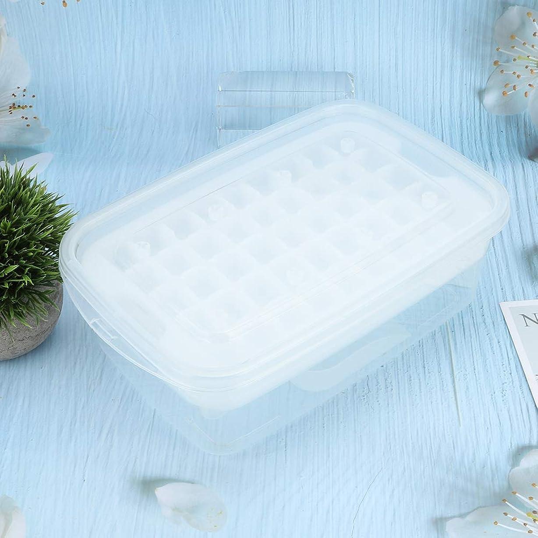 よく話される岩メドレーふた付きアイスキューブトレイ氷球型ふた付きアイスキューブトレイアイス型、アイスキューブ型、アイスキューブトレイ、ウイスキー用カクテル(Transparent)