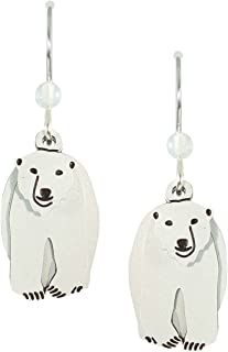 polar bear earrings