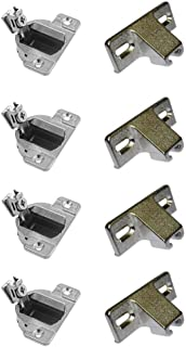 Compact 33 Hinges, Face Frame, 1/2
