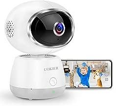 Wireless Security Camera UOKIER WiFi Indoor Pet Camera IP Camera Pan/Tilt/Zoom, 1080P..