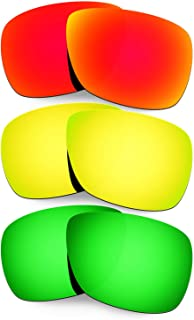 Hkuco Plus Mens Replacement Lenses For Oakley Inmate - 3 Pair