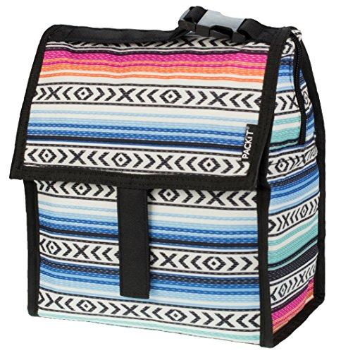 PACKIT Kühltasche Einfrierbar Lunch bag, Fiesta, 12.7 x 21.6 x 25.4 cm, 4.4 Liter