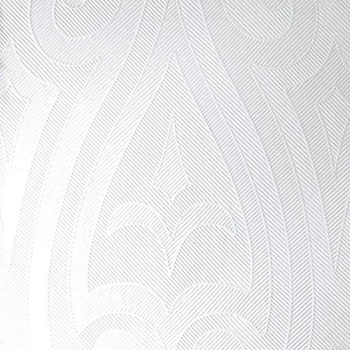Duni Elegance-Servietten Lily weiß, 48 x 48 cm, 40 Stück