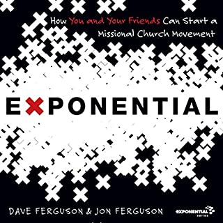 Exponential audiobook cover art