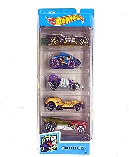 العاب السيارات من سلسلة سيتي ستريت بيست من هوت ويلز، 5 سيارات هي اراك نورود وبيرانا تيرور وايفل ويفل وسكال كراشر وباز بومب