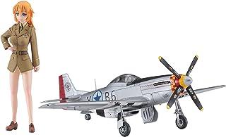ハセガワ ストライクウィッチーズ シャーロット・E・イエーガー w/P-51D ムスタング 1/20スケール レジンキット SP431