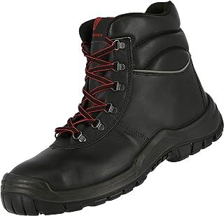 Nitras Chaussure de Securité Homme Femme S3 Power Step III HRO SRC - Chaussures de Travail Montantes - Boot Cuir - Bottine...