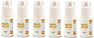 The Edge 3G Adhesive False Super Strong Nail Tips - Pack of 6