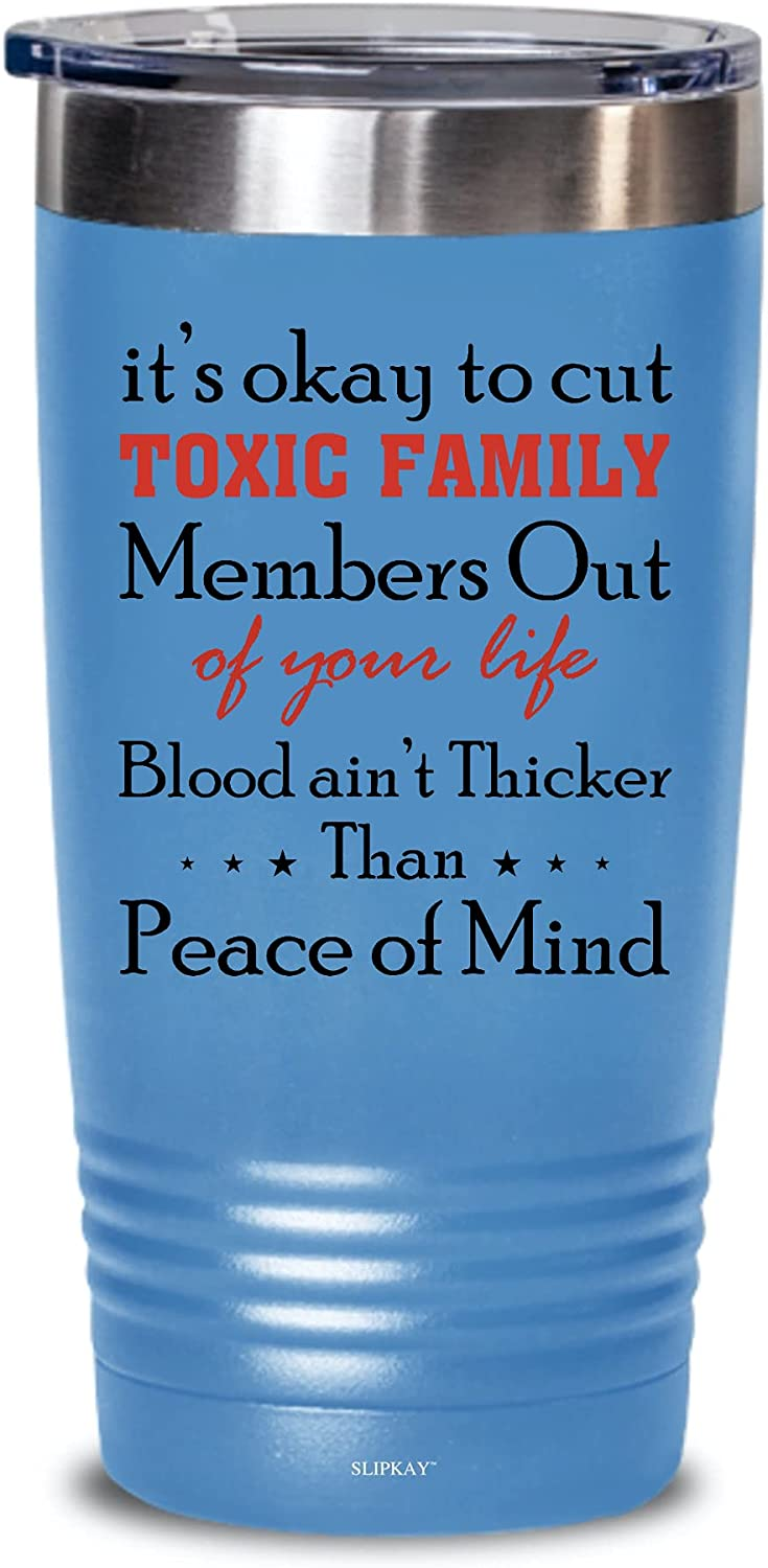 Max 41% OFF Its Okay Max 60% OFF To Cut Toxic Family Members Tumbler Gifts Out 20oz