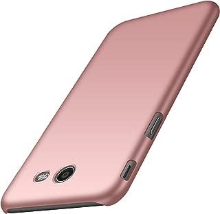 Avalri Galaxy J3 2017 Case, J3 Emerge, J3 Prime, J3 Mission Case, Ultra Thin Anti-Fingerprint Minimalist Hard PC Cover Samsung Galaxy J3 Eclipse (Silky Rose Gold)
