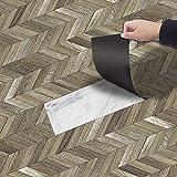 diy adesivi per pavimenti pavimento pvc, piastrelle per pavimenti stile modello pittura per piastrelle impermeabile per cucina soggiorno bagno 20 * 300cm (stile 1)