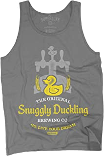 Mens/Womens/Snuggly Duckling Brewing Company Tank Top