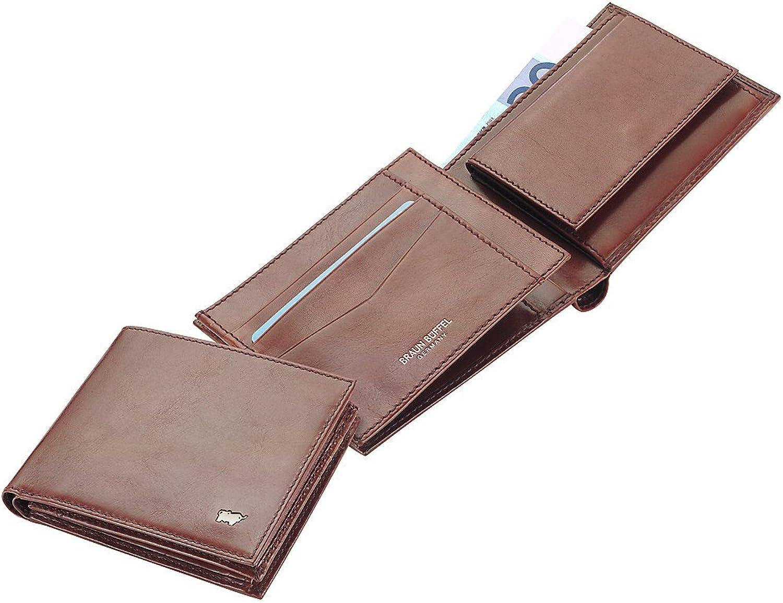 Braun Büffel Basic Geldbörse, Leder, braun, BB-33143-004-030 B006HWUFQO