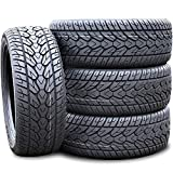 Set of 4 (FOUR) Fullway HS266 All-Season Performance Radial Tires-305/45R22 305/45/22 305/45-22 118V Load Range XL 4-Ply BSW Black Side Wall