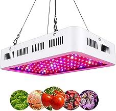 GHC LED Gloeilampen LED Grow Light 300/600 / 1000W AC 100-240V Volledig spectrum voor indoor plantlamp met UV IR Hydroponi...