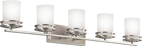 2021 Kichler wholesale 5085NI Hendrik Vanity Light, new arrival 5, Brushed Nickel online sale